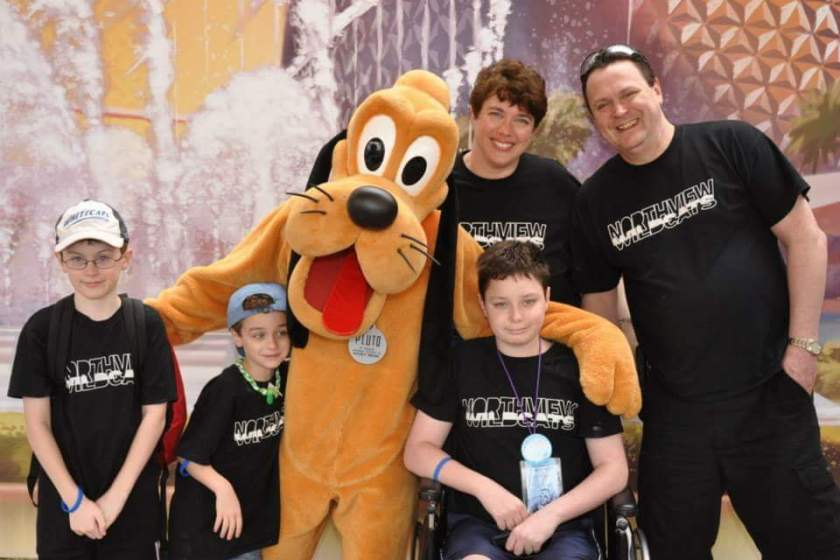 Bradleys at Disney